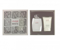 LALIQUE WHITE 2 PCS SET FOR MEN: 4.2 EDT SP