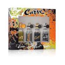 CURVE 4 PCS MINI SET FOR MEN: 15 ML * 4 PCS