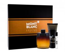 MONT BLANC LEGEND NIGHT 3 PCS SET: 3.3 SP