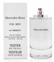 MERCEDES-BENZ 4 OZ TESTER EAU DE TOILETTE SPRAY FOR MEN