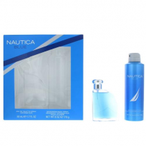 NAUTICA BLUE 2 PCS SET FOR MEN: 1.7 EDT SP