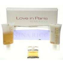 NINA RICCI LOVE IN PARIS 3 PCS SET: 2.7 EDP SP
