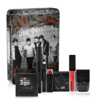 ONE DIRECTION MAKE UP MIDNIGHT MEMORIES COLLECTION: BEST SONG EVER + RIGHT NOW + 4+1 EYE SHADOW PALETTE + THROUGH THE DARK + BETTER THAN WORDS + LITTLE BLACK DRESS + 5 PIECE DECORATOR STENCIL SET