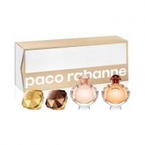 PACO RABANNE 4 PCS MINI SET FOR WOMEN