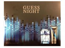 GUESS NIGHT 2 PCS SET FOR MEN: 3.4 EDT SP