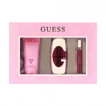 GUESS 3 PCS SET FOR WOMEN: 2.5 EDP SP (WINDOW BOX)