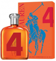 POLO BIG PONY # 4 ORANGE 4.2 EDT SP FOR MEN