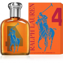 POLO BIG PONY #4 ORANGE 2.5 EDT SP FOR MEN