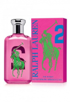 POLO BIG PONY #2 PINK 3.4 EDT SP FOR WOMEN