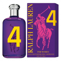 POLO BIG PONY #4 PURPLE 3.4 EDT SP FOR WOMEN