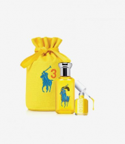 POLO BIG PONY # 3 YELLOW 3 PCS SET: 1.7 SP
