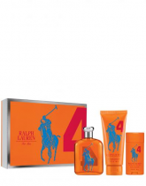 POLO BIG PONY #4 ORANGE 3 PCS SET FOR MEN: 4.2 SP