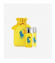 POLO BIG PONY #3 YELLOW 3 PCS SET FOR WOMEN: 3.4 SP