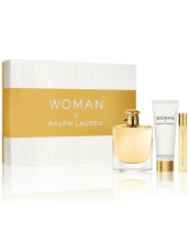 RALPH LAUREN WOMAN 3 PCS SET: 3.4 EAU DE PARFUM SPRAY +...