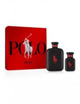 POLO RED EXTREME 2 PCS SET: 4.2 PARFUM SPRAY +1.36 PARFUM SPRAY (HARD BOX)