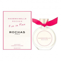 MADEMOISELLE ROCHAS FUN IN PINK 3 OZ EDT SP FOR WOMEN