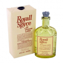 ROYALL SPYCE 8 OZ ALL PURPOSE LOTION / COLOGNE SPLASH