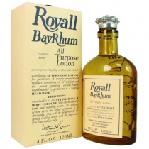 ROYALL BAY RHUM ALL PURPOSE LOTION / COLOGNE 8 OZ SPLASH
