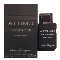 SALVATORE FERRAGAMO ATTIMO BLACK MUSK 3.4 EDT SP
