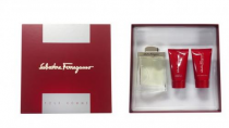 SALVATORE FERRAGAMO 3 PCS SET FOR MEN: 3.4 EDT SP