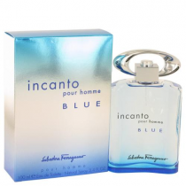 SALVATORE FERRAGAMO INCANTO BLUE 3.4 EDT SP FOR MEN