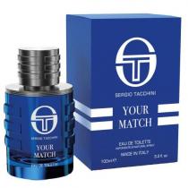SERGIO TACCHINI YOUR MATCH 3.4 EAU DE TOILETTE SPRAY FOR MEN