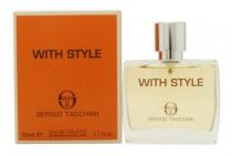 SERGIO TACCHINI WITH STYLE 1.7 EAU DE TOILETTE SPRAY FOR MEN