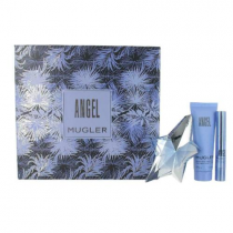 ANGEL 3 PCS SET FOR WOMEN: 0.8 OZ SP REFILLABLE (HARD BOX)