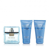 VERSACE EAU FRAICHE 3 PCS SET: 1.7 EDT SP