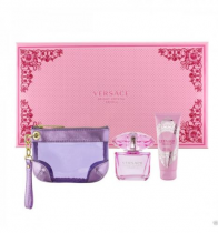 VERSACE BRIGHT CRYSTAL ABSOLU 3 PCS SET: 3 OZ EDP SP