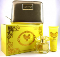 VERSACE YELLOW DIAMOND 3 PCS SET: 3 OZ EDP SP