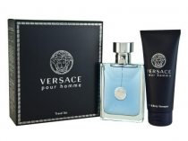 VERSACE POUR HOMME 2 PCS SET: 3.4 SP (TRAVEL SET)
