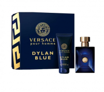 VERSACE DYLAN BLUE 2 PCS SET: 3.4 EDT SP (TRAVEL)