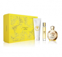 VERSACE EROS 3 PCS SET FOR WOMEN: 3.4 SP