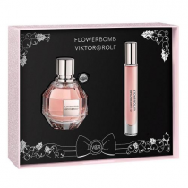 FLOWERBOMB 2 PCS SET: 1.7 EDP SP + 0.25 EDP SP