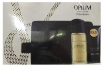 YSL OPIUM 3 PCS SET FOR MEN: 3.3 EDT SP