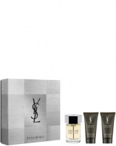 YSL L'HOMME 3 PCS SET: 3.4 EDT SP