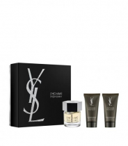 YSL L'HOMME 3 PCS SET: 2 OZ EDT SP
