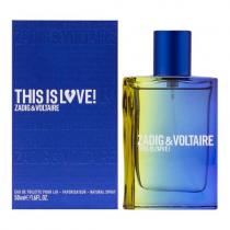 ZADIG & VOLTAIRE THIS IS LOVE 1.7 EAU DE TOILETTE SPRAY FOR MEN