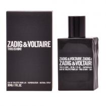 ZADIG & VOLTAIRE THIS IS HIM 1 OZ EAU DE TOILETTE SPRAY